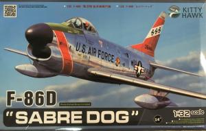 Kitty Hawk KH32007 Samolot F-86D Sabre Dog