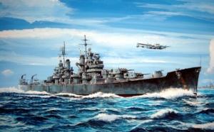 Krążownik USS Baltimore CA-68 1943 Trumpeter 05724