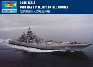 Krążownik rakietowy Trumpeter 05710 USSR Petr Velikiy Battlecruiser
