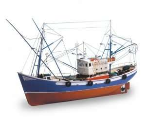 Kuter rybacki Carmen II Artesania 18030 drewniany statek 1-40