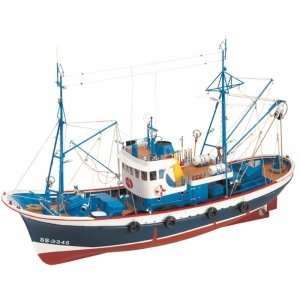 Kuter rybacki Marina II - Artesania 20506 - drewniany statek skala 1-50