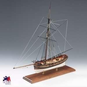 Lady Nelson Amati 130001 drewniany model 1:64