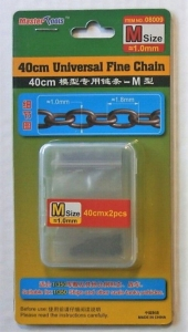 Łańcuch M 2szt 1,0mm 40cm Trumpeter 08009