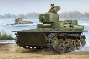 Lekki czołg amfibia T-37A wczesny Hobby Boss 83818