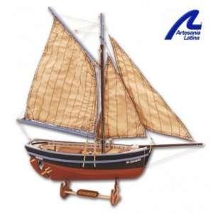 Łódź rybacka Bon Retour - Artesania 19007 - drewniany statek skala 1-25