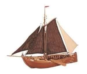 Łódź rybacka Botter Artesania 22120 drewniany statek 1-35