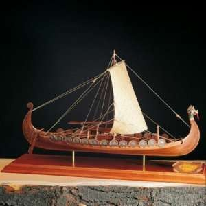 Łódź wikingów Drakkar - Amati 1406/01 - drewniany model