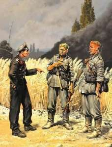 MB 3510 Grupa żołnierzy niemieckich