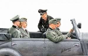 MB 3570 Niemieccy wojskowi