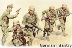 MB 3593 Niemiecka piechota DAK - Afryka Północna WWII