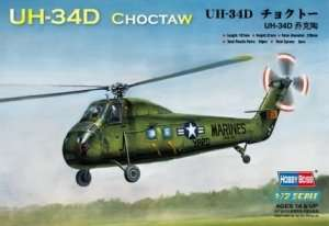 MOdel helikoptera American UH-34D Choctaw Hobby Boss 87222