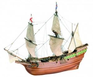 Mayflower 1620 - Artesania 22451 - drewniany statek skala 1-64