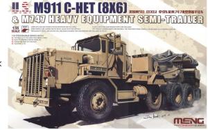 Meng SS-013 Samochód ciężarowy M911 C-HET 8x6 model 1-35