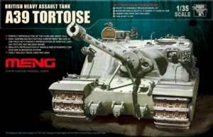 Meng TS-002 British Heavy Tank A39 Tortoise