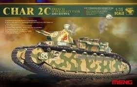 Meng TS-009 Char 2C French Super Heavy Tank