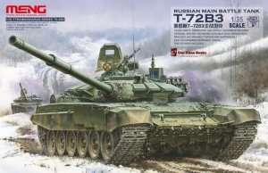 Meng TS-028 Russian main battle tank T-72B3