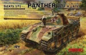 Meng TS-035 Sd.Kfz.171 Panther Ausf.A late