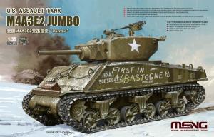 Meng TS-045 Czołg M4A3E2 Jumbo model 1-35