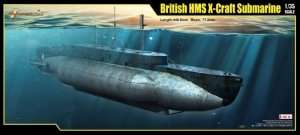 Merit 63504 British HMS X-Craft Submarine