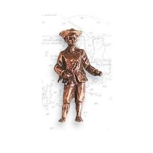 Metalowa figurka - kapitan 27mm 2szt Artesania 8744