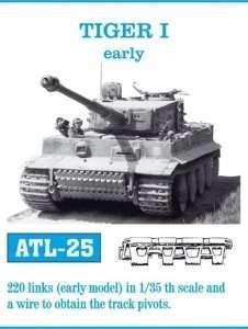 Metalowe gąsienice do czołgu Tiger I early