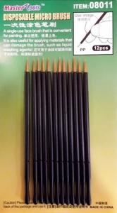 Micro pędzelki 12szt Trumpeter 08011