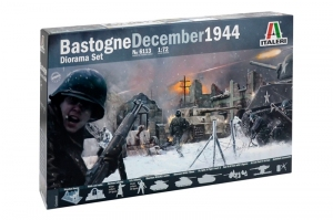 Mini Diorama Bastogne December 1944 zestaw Italeri 6113