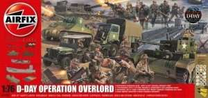 Mini diorama D-Day Operation Overlord Airfix A50162