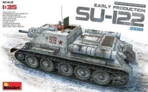 MiniArt 35181 Działo pancerne SU-122 w skali 1-35