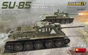 MiniArt 35204 Działo samobieżne SU-85 Uszkodzone pudełko