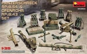 MiniArt 35263 Panzerschreck RPzB 54 and Ofenrohr RPzB 43 set