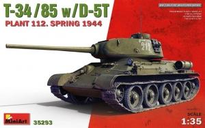 MiniArt 35293 Czołg T-34/85 w/D-5T Plant 112. Spring 1944