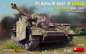 MiniArt 35298 Czołg Pz.Kpfw.IV Ausf.H Vomag 1943