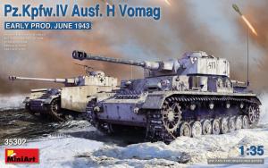 MiniArt 35302 Czołg Pz.Kpfw.IV Ausf.H Vomag