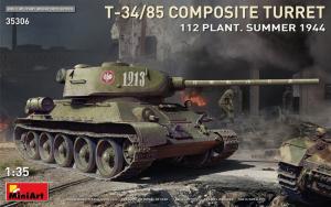 MiniArt 35306 Czołg T-34/85 z kompozytową wieżą