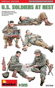 MiniArt 35318 Figurki amerykańscy żołnierze edycja specjalna