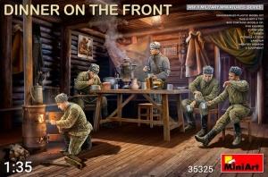 MiniArt 35325 Radzieccy żołnierze jedzący kolację