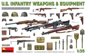 MiniArt 35329 Broń i wyposażenie amerykańskiej piechoty