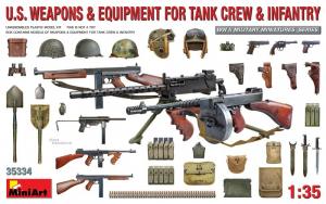 MiniArt 35334 Ekwipunek załogi czołgu i piechoty amerykańskiej skala 1-35