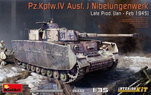 MiniArt 35342 Czołg Pz.Kpfw. IV Ausf.J Nibelungenwerk z wnętrzem