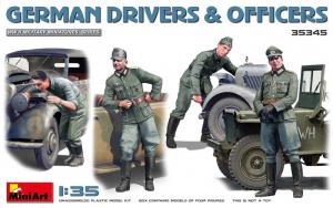 MiniArt 35345 Figurki niemieccy kierowcy i oficerowie skala 1-35