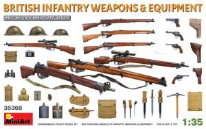 MiniArt 35368 Broń i ekwipunek brytyjskiej piechoty