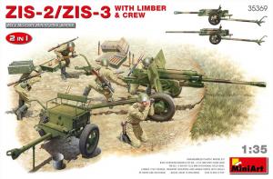 MiniArt 35369 Armata ZiS-2 / ZiS-3 i figurkami
