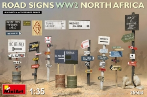 MiniArt 35604 Road Signs WWII North Africa