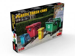 MiniArt 35617 Plastikowe pojemniki na śmieci skala 1-35