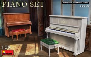 MiniArt 35626 Pianino zestaw skala 1-35