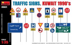 MiniArt 35631 Znaki drogowe Kuwejt 1990 model 1-35