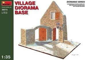 MiniArt 36015 Village Diorama Base