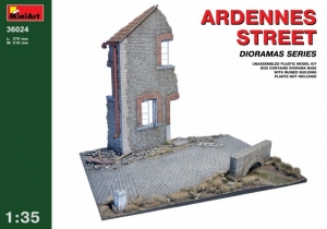 MiniArt 36024 Ardennes Street