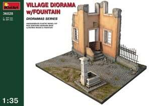MiniArt 36028 Village Diorama w/Fountain